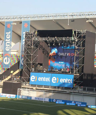 Entel / Evento 'Chile vs Chile'